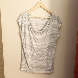 CAbi Drape Neck Fall in Tee